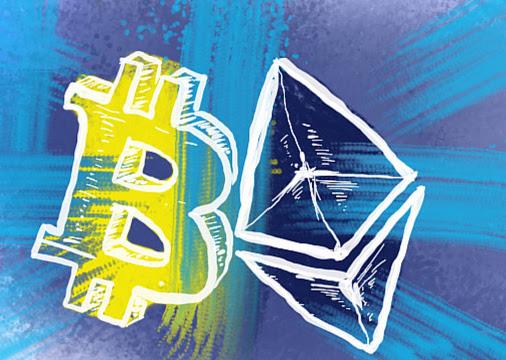 Криптовалюта Ethereum догоняет Bitcoin