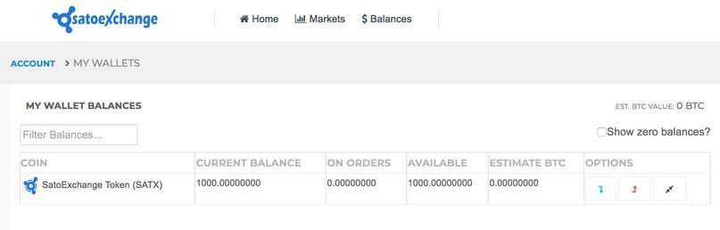Новая Крипто-биржа Satoexchange раздаёт 1000 своих токенов за регистрацию!