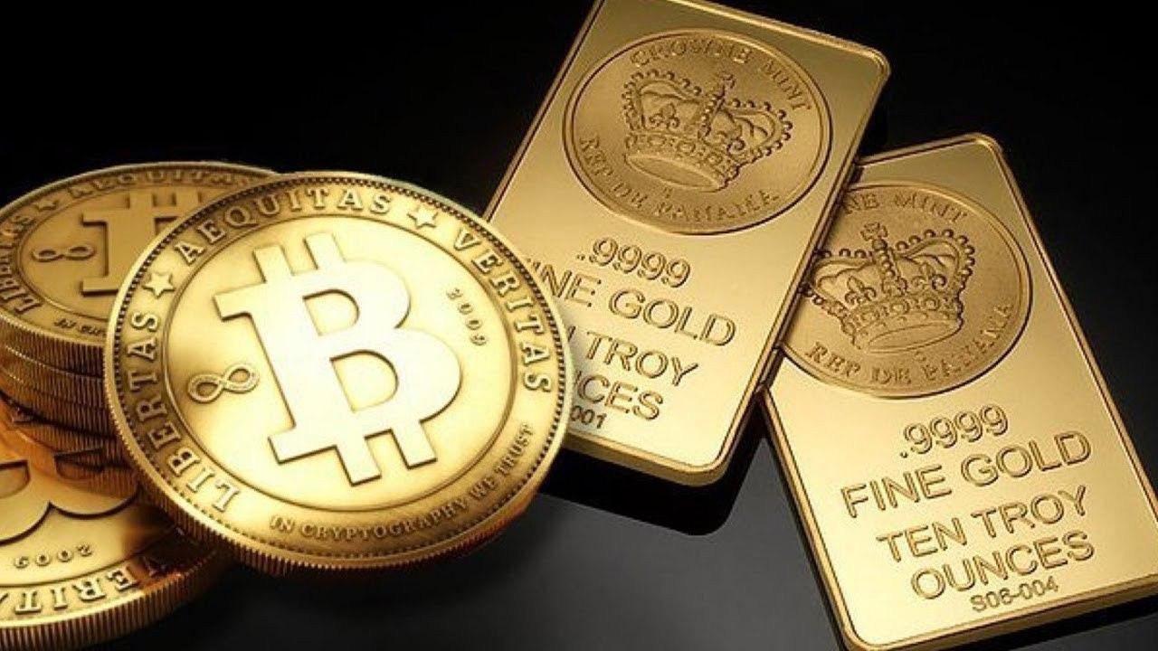 Биткоин начал прямо коррелировать с ценой золота
